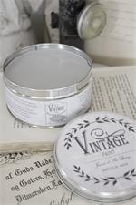 cera grigio chiaro per proteggere la chalk paint - ricolora la tua casa con la chalk paint Vintage Paint  - www.vintagepaint.it