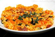 ♥ Máma v kuchyni ♥: Dýňové rizoto (od 6 měsíců)