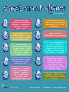 Anak mengalami diare, apa yang pertama kali dilakukan? Save poster ini, yuk! >>
