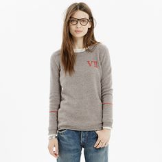 Embroidered Original Sweater : pullovers | Madewell