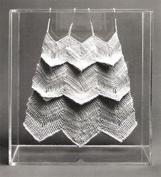 Aurèlia Muñoz [Spanish artist, 1926-2011] | Transparent [Macramé, 1976]
