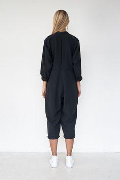 Infant Babys Long Sleeve Jumpsuit Romper Judo Silhouette Unisex Button Playsuit Outfit Clothes