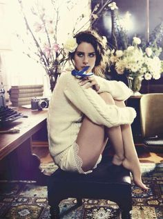 Lana del Rey in Vogue Australia