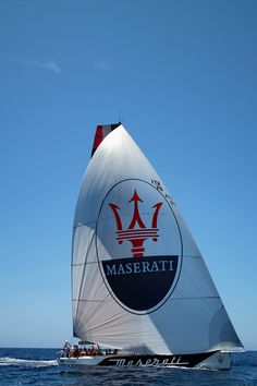 """At the exclusive Maserati """"Drive & Sail"""" experience in Port Adriano (Mallorca, Spain), a selected number of guests enjoyed the unique opportunity to sail on board the Maserati VOR 70, a 70ft monohull skippered by Giovanni Soldini (twice winner of the Around Alone) and to drive the Maserati model range, including the new Maserati GranTurismo Sport. Some day!"""