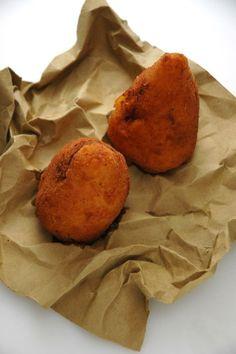 L'arancina siciliana di Ciccio Sultano. Uno spettacolo. E questa è la ricetta :-)