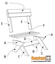 Diy Furniture Cheap, Diy Outdoor Furniture, Woodworking Techniques, Woodworking Plans, Cladding Panels, Bench Legs, Wooden Pallet Projects, Wood Patterns, Outdoor Areas