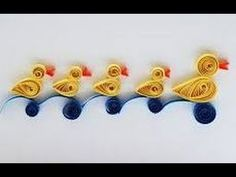 Quilling Made Easy # How to make Quilled bird Paper Quilling -Quilling V...