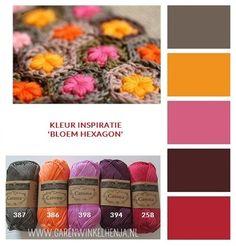 Kleur Inspiratie - Henja: online garenwinkel