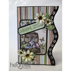 Heartfelt Creations - Missed Birthday Pooch And Daisies Project
