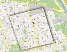 Cabbagetown map #Toronto #Cabbagetown