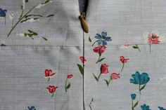 How to Match Seams Perfectly: Sewing Seams Across an Invisible Zipper