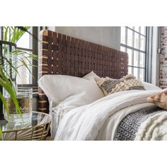 King Size Leather Headboard Bedroom £ 492.00 Store UK, US, EU