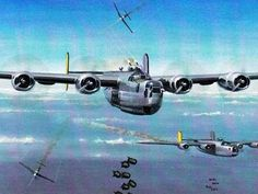 The first B-24 loss over German territory occurred on 26 February 1943. Earlier in the war, both the Luftwaffe and the Royal Air Force had abandoned daylight bombing raids because neither could sustain the losses suffered. The Americans persisted, however, at great cost in men and aircraft. In the period between 7 November 1942 and 8 March 1943, the 44th Bomb Group lost 13 of its original 27 B-24s.