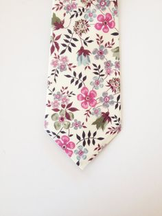 Lavender Liberty of London Print tieYOU CHOOSE by staghandmade