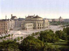 Historic Centre of Vienna - Austria (Wien Burgtheater ca Theater, Historia Natural, Austro Hungarian, Austria Travel, Vienna Austria, Pictures Of People, Lausanne, Grand Tour, Pompeii
