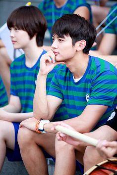 Sulli & Minho as Kang Tae Joon and Goo Jae Hee. To The Beautiful You (Korean Drama) To The Beatiful You, Beautiful You Korean Drama, Jonghyun, Shinee Minho, Korean Celebrities, Korean Actors, Korean Dramas, Celebs, Moorim School
