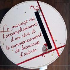 texte mariage voeux mariage urne mariage mariage rouge deco mariage boite tirelire discours remerciement - Discours De Remerciement Mariage