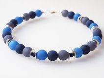 Polariskette blau Kette Collier