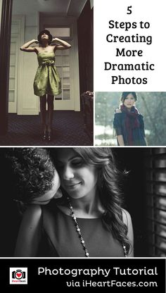5 Steps To Creating Dramatic Photos (I Heart Faces) Face Photography, Photography Lessons, Photoshop Photography, Photography Women, Photography Business, Light Photography, Photography Tutorials, Amazing Photography, Photoshop Lessons