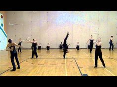 Wheaton Dance/Twirl Teams- Rehearsal November 2011