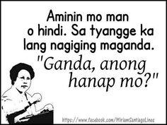 Hugot Lines Tagalog Funny, Tagalog Quotes Hugot Funny, Hugot Quotes, Memes Pinoy, Pinoy Quotes, Filipino Quotes, Filipino Funny, Patama Quotes, Best Quotes