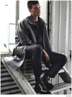 Matthew Davidson, Andrew Cooper, Sebastian Lund + More Model 80s Inspired Fashions for Details