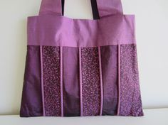 Purple Piped Bag by kerrianneanderson on Etsy, $25.00