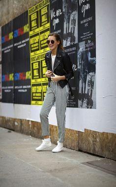 Monochromatic Form  weworewhat  streetstyle  fashion  blogger  black  white  Street Chic. Street ChicStreet StyleDanielle BernsteinWinter ChicLeather ... f7bc340f09ca