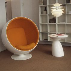 Ball Chair, Egg Chair, Lounge, Furniture, Design, Home Decor, Airport Lounge, Drawing Rooms, Decoration Home