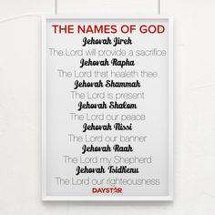 The Names of God [Daystar.com]