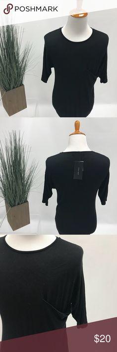 Zara Men's shirt All black men's shirt,elbow length arm sleeves and light weight material. Zara Shirts Dress Shirts