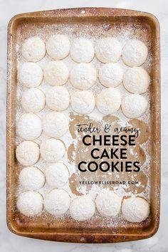 Cheesecake Cookies (updated recipe) - Yellow Bliss Road