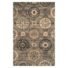 Superior Abner Collection with 10mm Pile and Jute Backing, Moisture Resistant and Anti-Static Indoor Area Rug, Gray