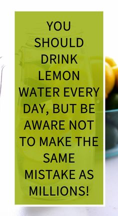 You Should Drink Lemon Water Every Day, But Be Aware Not to Make The Same Mistake As Millions! Herbal Remedies, Health Remedies, Natural Teething Remedies, Natural Cold Remedies, Sour Taste, Health Vitamins, Health Department, Lower Blood Pressure