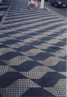 Sidewalk in São Paulo, Brazil www.kanootravel.co.uk www.kanoocurrency.co.uk