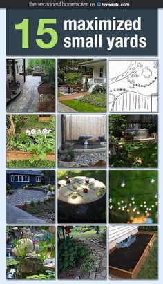 Make the most of your small yard with these great ideas!