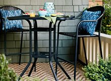 Patio Table And Chair Sets Lowes Wheelchair Uae 9 Best Furniture Images Lawn Lowe S Outdoor Amp Bar