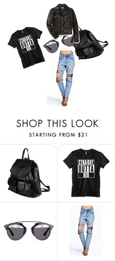 """""""Urban outfitters"""" by hope-devoirdevon ❤ liked on Polyvore featuring PARENTESI, Christian Dior, Boohoo and Rebecca Minkoff"""