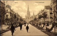 Ansichtskarte / Postkarte Berlin Charlottenburg, Blick in die Tauentzienstraße    gelaufen 1912