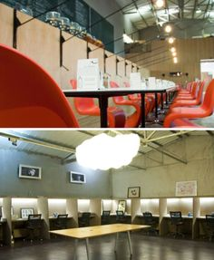 10 Cafe Plus #office hybrid #coworking spaces