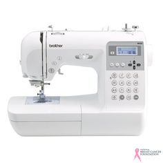 This is definitely a machine that is set to impress! A sewing machine with versatility and range, the Brother lets you sew or quilt from a selection of 70 utility or decorative stitches.