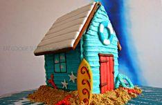 Gingerbread Surf Shack!