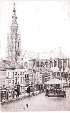 Breda.  Groote Markt.  1906.