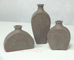 Image result for hand built pottery vases