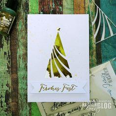 Karten-Kunst » Tannenbaum mit Alcohol Inks – mit Video!