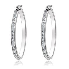 AnaZoz 1 Pari Small Hoop Earrings for Cartilage Stainless Steel Earring Simple Design