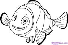 Disney Finding Nemo Coloring Pages