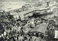 Ahşap Galata Köprüsü / 1910 http://ift.tt/2pC918r