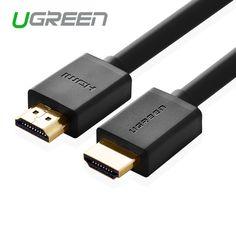 Ugreen HDMI 케이블 1 메터 2 메터 3 메터 5 메터 10 메터 HDMI 케이블 HDMI 1.4 4 천개 1080 마력 3d ps3 프로젝터 hd lcd apple tv 컴퓨터 케이블
