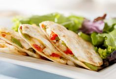 The Packaged Foods Dietitians Pick // healthy quesadilla c Thinkstock
